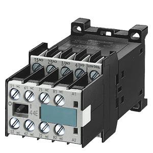 Hilfsschütz Siemens 3TH2, 4- und 8-polig