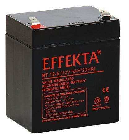 Effekta Blei-Vlies Batterien für USV Anlagen und Telekommunikationssysteme.