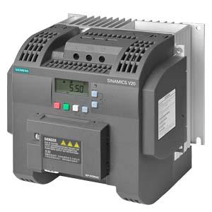 Frequenzumrichter Siemens MICROMASTER  und SINAMICS-Familie.