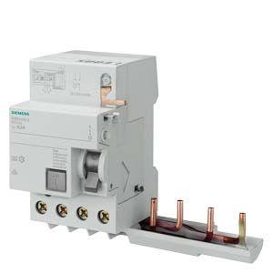 Siemens FI-BLOCK 5SM2845-8 Siemens 5SM2845-8 FI-BLOCK F.LS-SCHALTER 5SY TYP A PSE/SSF 0.3-63A 4-polig IFN 1,0A 400V für SELEKTIVE ABSCHALTUNG